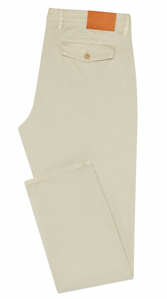 FINE SAND STRETCH CHINO