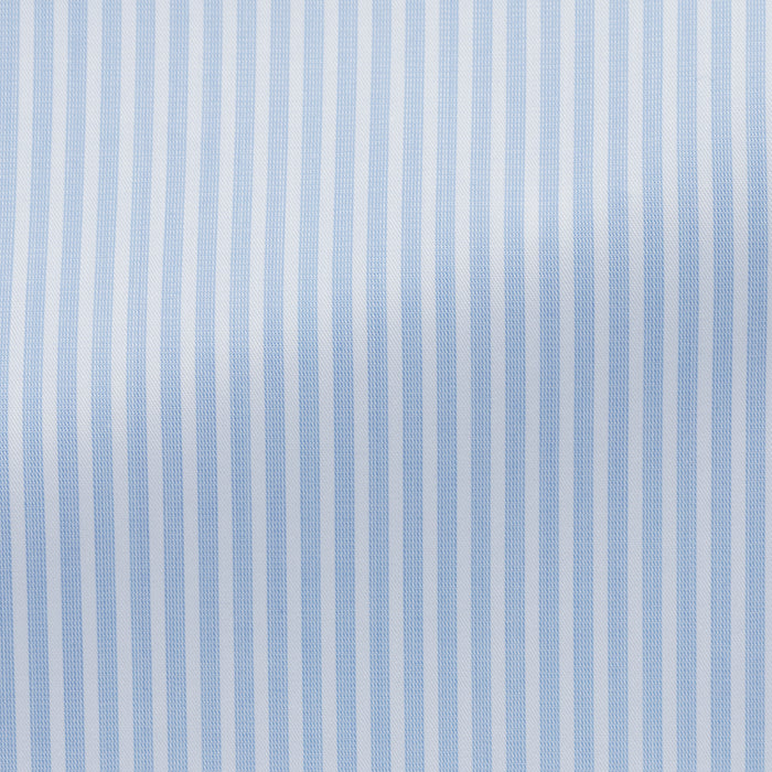 LIGHT BLUE COTTON WITH STRIPES
