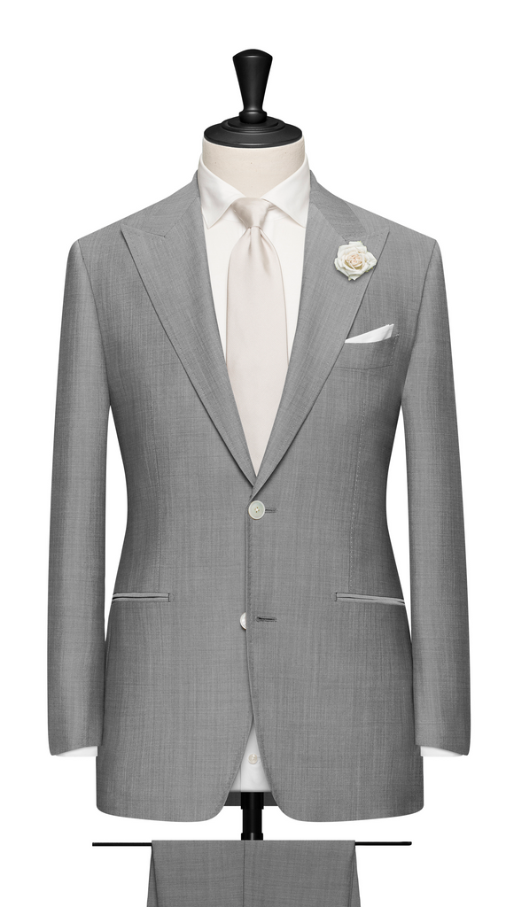LIGHT GREY WEDDING SUIT