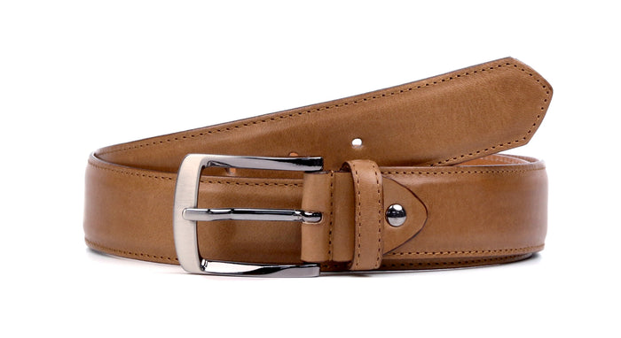 Cognac Leather Belt