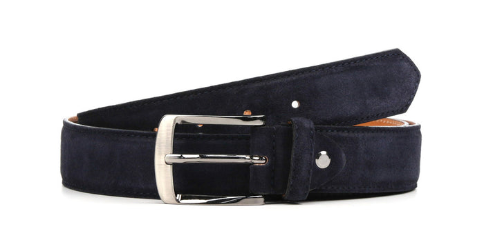 Belt Blue Suede Zano