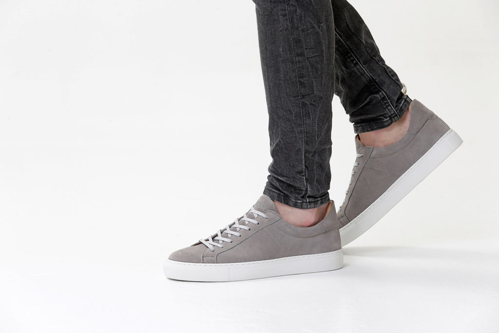 the Sartorial Grey Suede