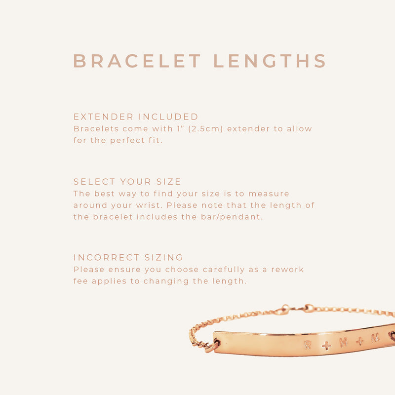 Lottie - Double Bar Bracelet