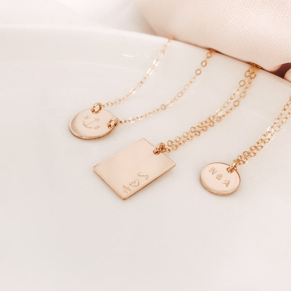 You + Me Small Pendant Necklace