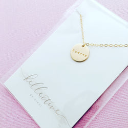 Chloe - Medium Pendant Necklace - Choose Number of Pendants