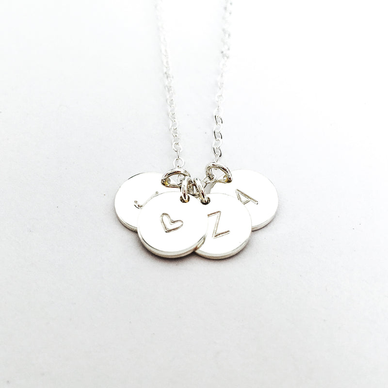 Sofia - Small Pendant Necklace - Choose Number of Pendants