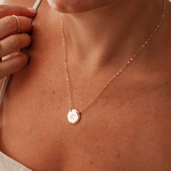 The Icon - Large Pendant Double Hole Necklace
