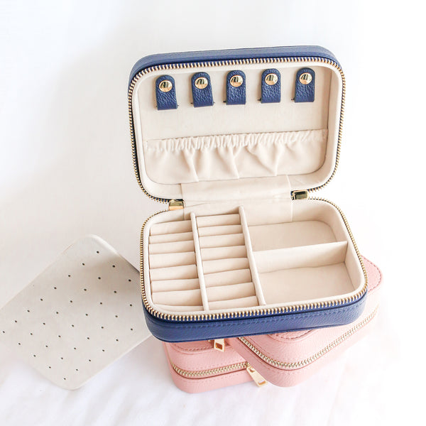 Jewellery Travel Case - Navy
