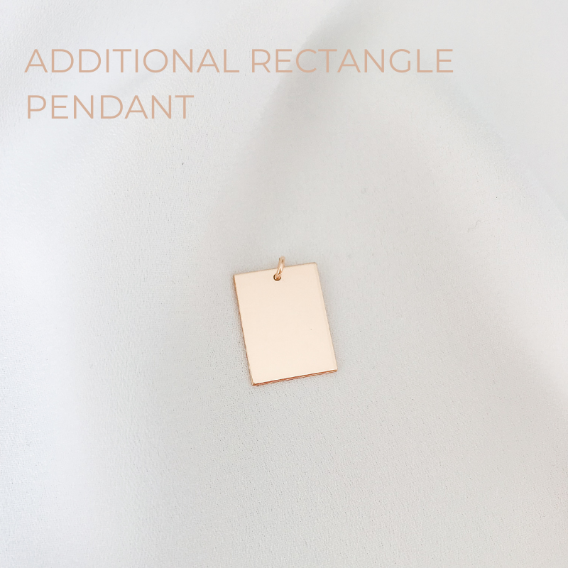 Additional Rectangle Pendant