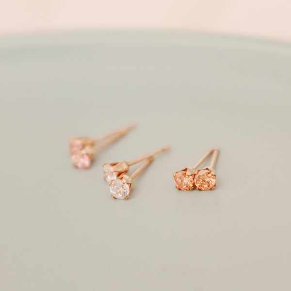Birthstone Studs • November