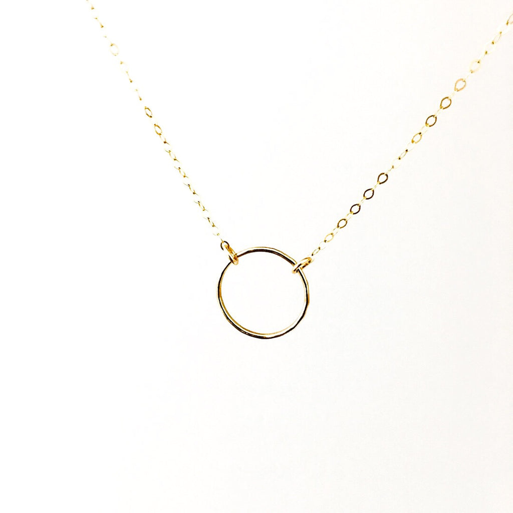 Kate - Circle Necklace