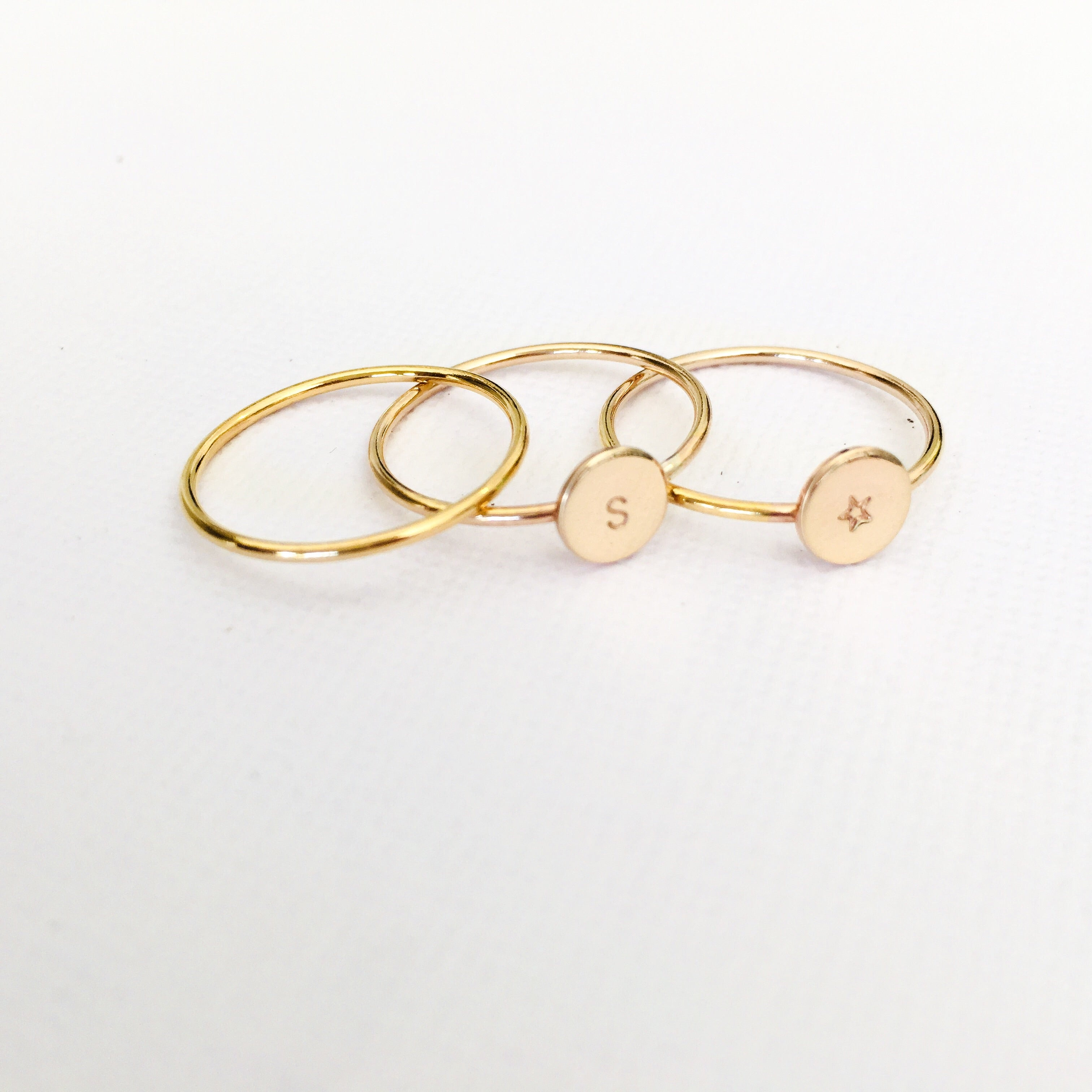 3 Stacking Rings