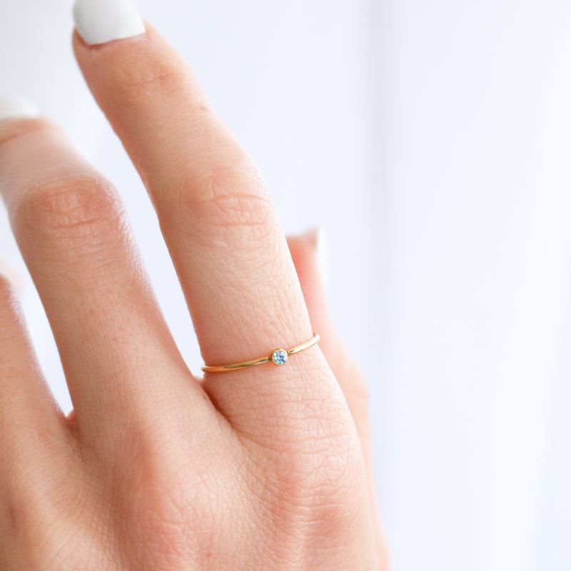 Birthstone Ring • December
