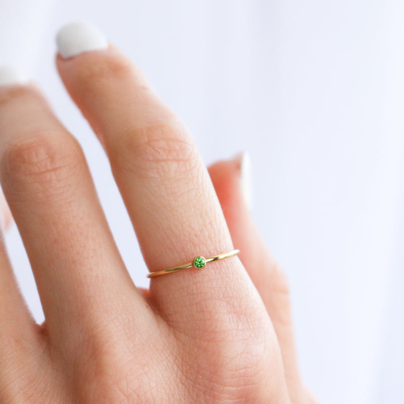 Birthstone Ring • May