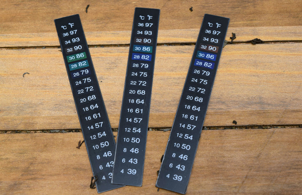 Stick-On Thermometer Strip, 3 Pack