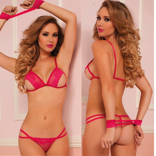 VALENTINA LACE WITH STRETCH BRA AND PANTY