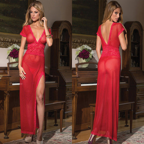 AMORE SATIN GOWN