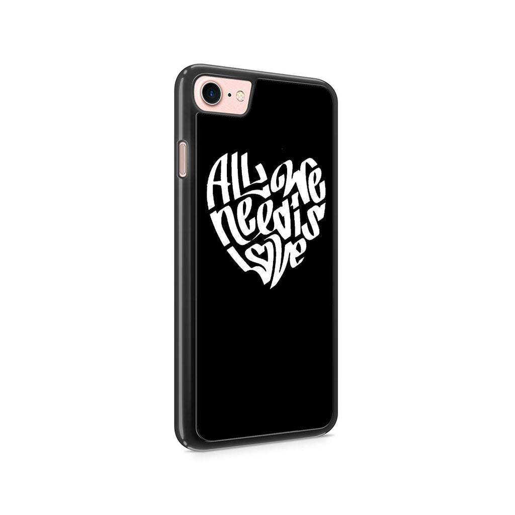 All We Need Is Love Peace Love Hope Faith Hippy 70's Iphone 7 / 7 Plus / 6 / 6s / 6 Plus / 6S