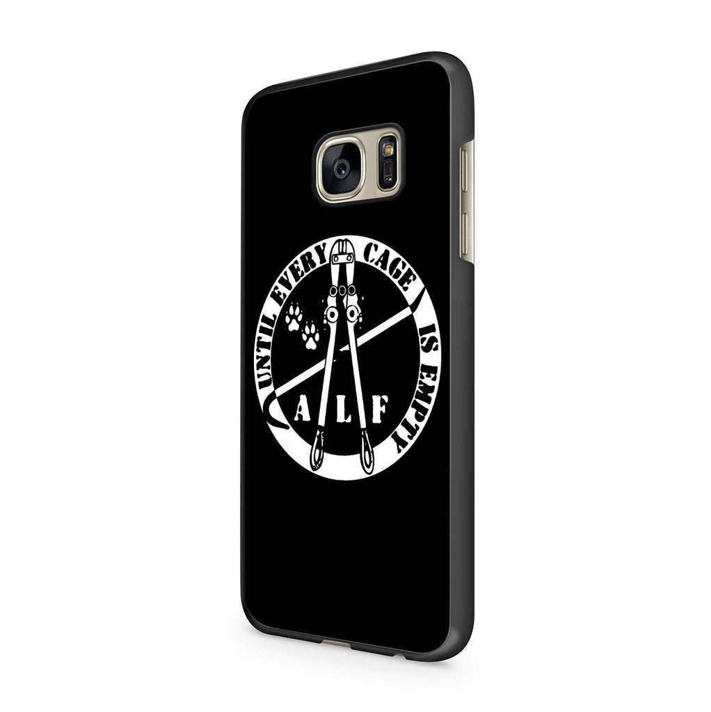 Animal Rights Vegetarian Straight Edge Funny Minor Threat Youth Of Today Samsung Galaxy S7 Case