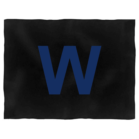 Chicago Cubs Win W Logo Blanket