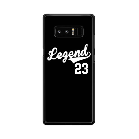Legend 23 Jordan Retro Samsung Galaxy Note 8  Case