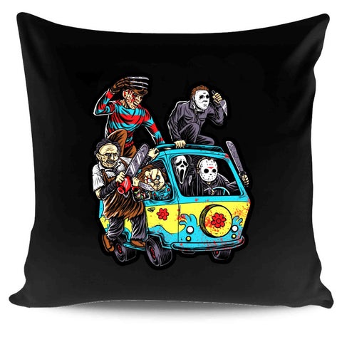 Mystery Machine Horror Movie Characters Comedy Star Wars Darth Vader Rouge One Pillow Case Cover