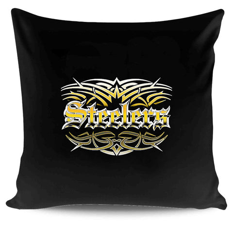 Steelers Tattoo Pittsburgh Steelers Tribal Pillow Case Cover