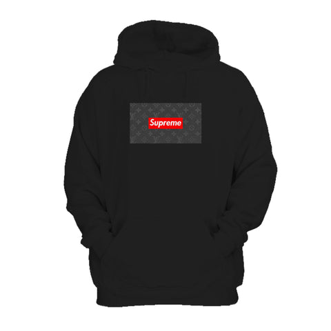 Supreme Louis Vuitton Red Box Logo Brand New Hoodie