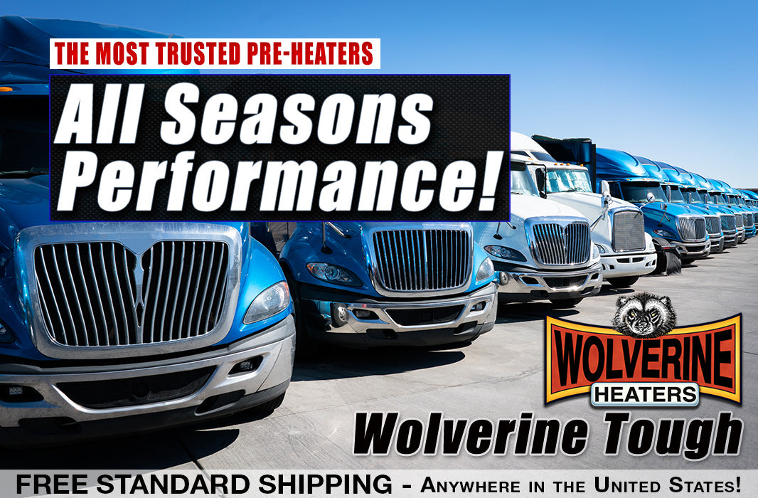 Wolverine Heaters save money and improve performance year round!