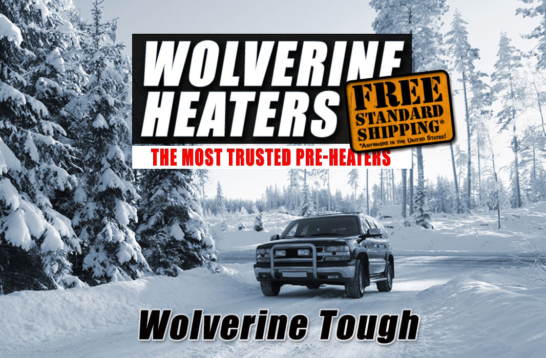 Wolverine Heaters Free Standard Shipping within USA
