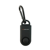 Eco Maxx Portable Personal Security Alarm Matte Black