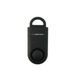 Eco Maxx Portable Personal Security Alarm Matte Black - MaxxmAlarm