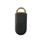 Eco Maxx Personal Security Alarm Matte Black-Gold - MaxxmAlarm