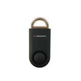 Eco Maxx Portable Personal Security Alarm Matte Black-Gold - MaxxmAlarm