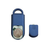 Eco Maxx Personal Security Alarm Matte Blue - MaxxmAlarm