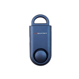 Portable Personal Security Alarm Matte Blue - MaxxmAlarm