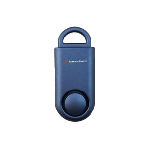 Eco Maxx Portable Personal Security Alarm Matte Blue - MaxxmAlarm