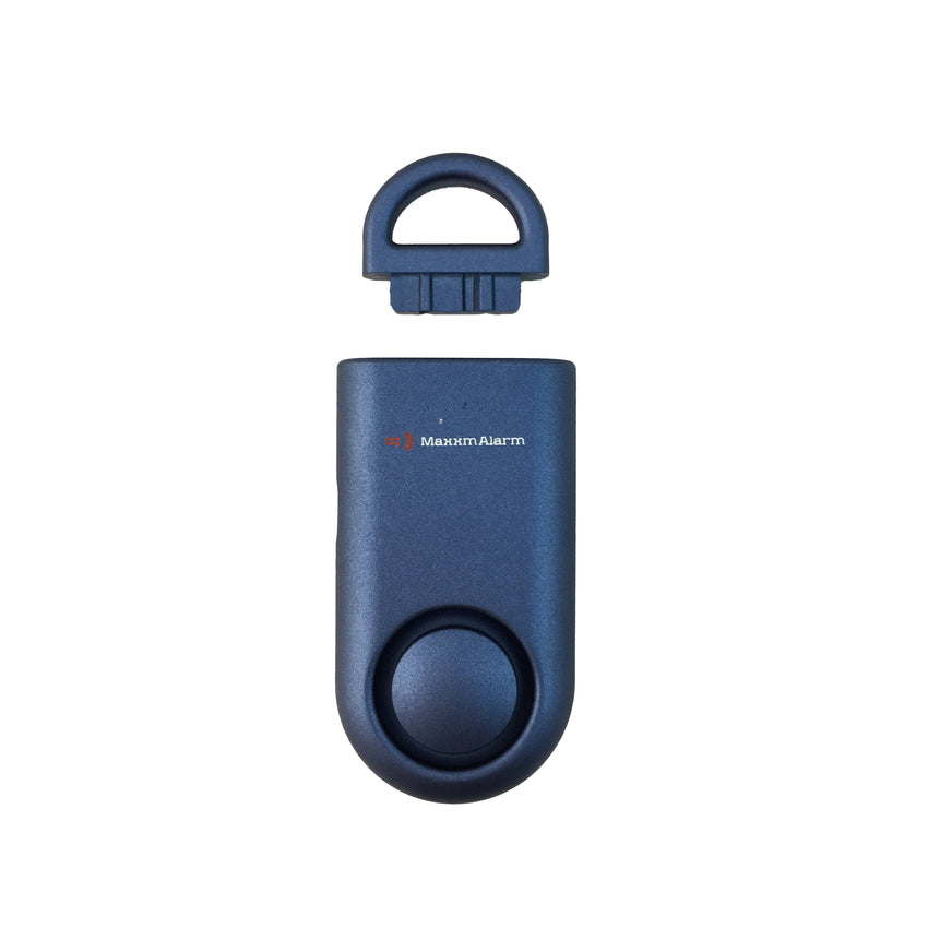 Eco Maxx Portable Personal Security Alarm Matte Blue