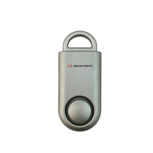 Eco Maxx Portable Personal Security Alarm Matte Space Grey - MaxxmAlarm
