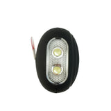 Portable Panic Button + LED Light Matte Black - MaxxmAlarm