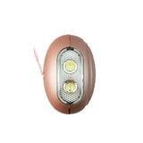 Portable Panic Button + LED Light Matte Rose Gold - MaxxmAlarm