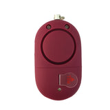 Portable Panic Button + LED Light Matte Ruby - MaxxmAlarm