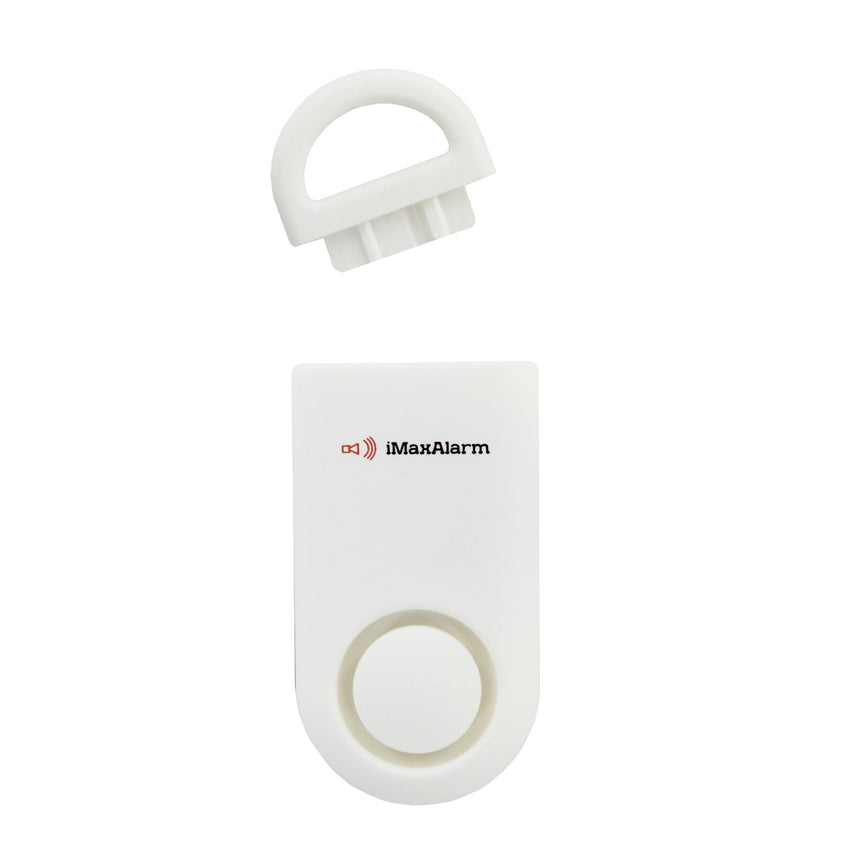 Portable Personal Security Alarm Matte White