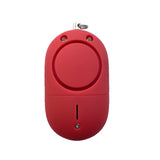 Portable Panic Button + LED Light Matte Red - MaxxmAlarm