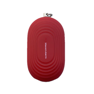 Portable Panic Button + LED Light Matte Red