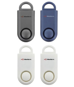 Portable Personal Security Alarm 4-Pack Variety