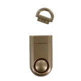 Portable Personal Security Alarm Gold - MaxxmAlarm