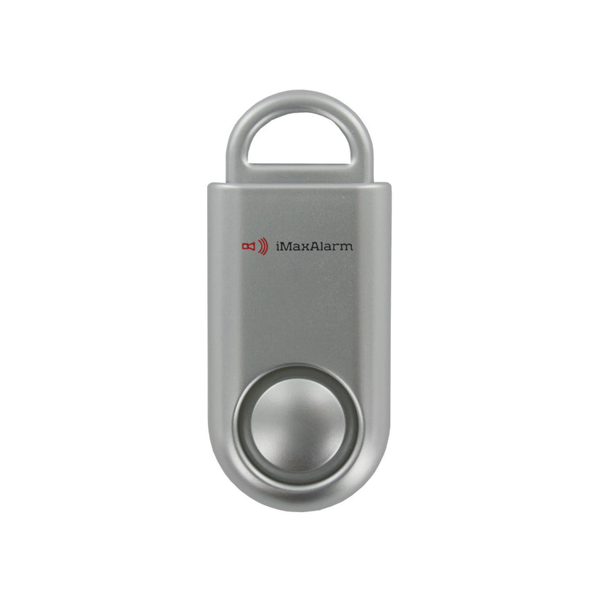Portable Personal Security Alarm Silver