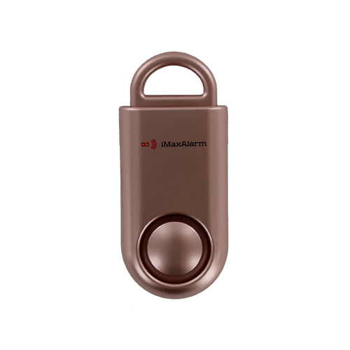 Portable Personal Security Alarm Rose Gold