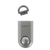 Portable Personal Security Alarm 2-Pack Silver